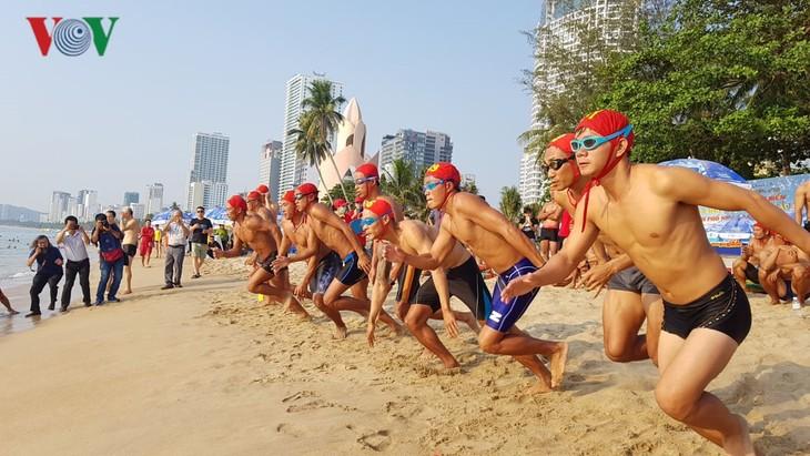 Eröffnung des Meeresfestivals Nha Trang-Khanh Hoa 2019 - ảnh 1