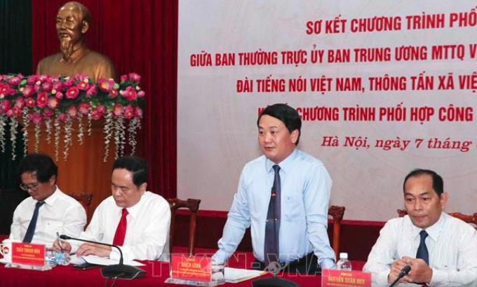 Aufklärung über 9. Konferenz der Vaterländischen Front Vietnams - ảnh 1