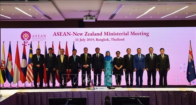 Außenministerkonferenzen zwischen ASEAN und Russland und zwischen ASEAN und Neuseeland - ảnh 1
