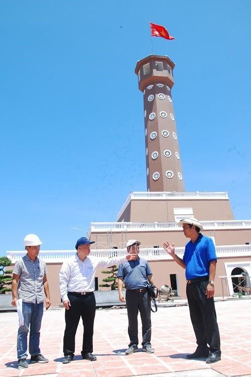 Hanoi-Fahnenturm im Kap Ca Mau wird am Jahresende eingeweiht - ảnh 1