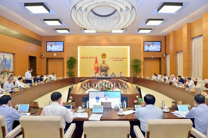 Ständiger Parlamentsausschuss diskutiert geändertes Unternehmensgesetzbuch und Investitionsgesetz - ảnh 1