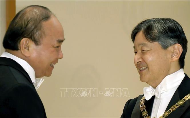 Der Premierminister beendet seinen Japanbesuch für Teilnahme an Zeremonien zur Thronbesteigung von Kaiser Naruhito - ảnh 1
