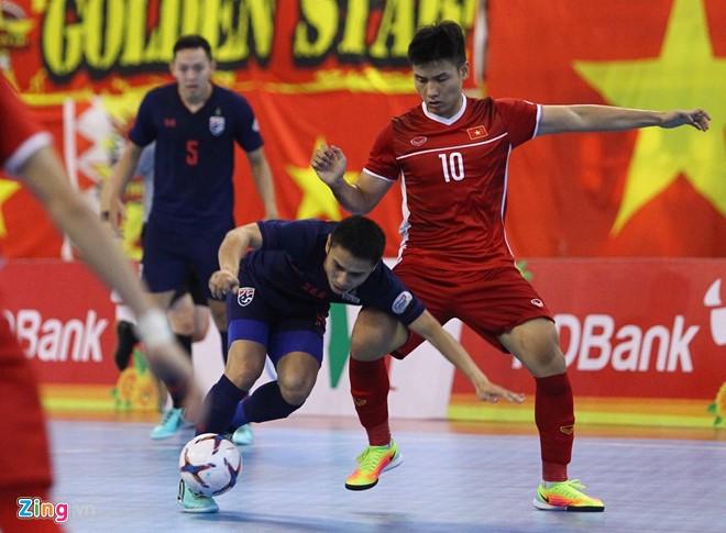 AFF HDBank Futsal-Meisterschaft 2019: Vietnam verliert gegen Thailand im Halbfinal - ảnh 1