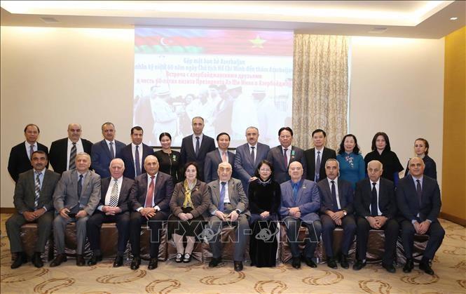 Feier zum 60. Jahrestag des Aserbaidschan-Besuches von Präsident Ho Chi Minh - ảnh 1