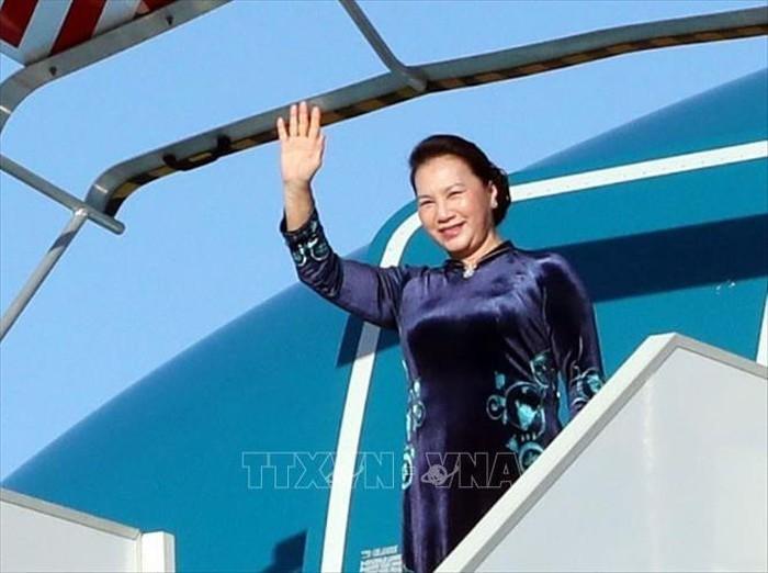 Parlamentspräsidentin Nguyen Thi Kim Ngan besucht Russland und Weißrussland - ảnh 1