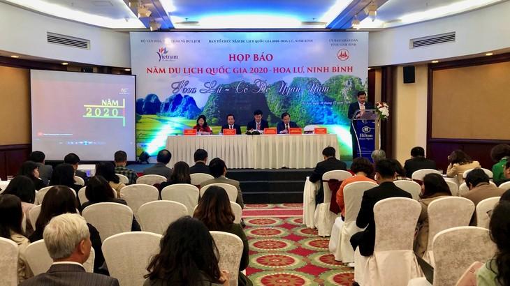 Das Nationaltourismusjahr 2020 Hoa Lu - Ninh Binh veröffentlicht - ảnh 1