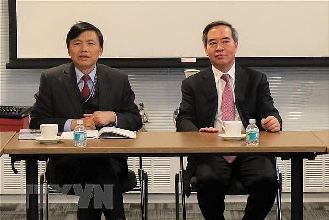 Leiter des KPV-Wirtschaftskomitees tagt mit der vietnamesischen Delegation bei der UNO - ảnh 1