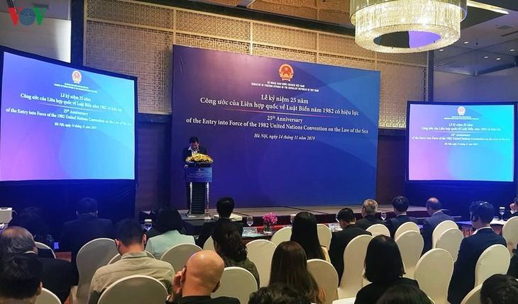 Verstärkung internationaler Zusammenarbeit im Meeresbereich, um UNCLOS umzusetzen - ảnh 1