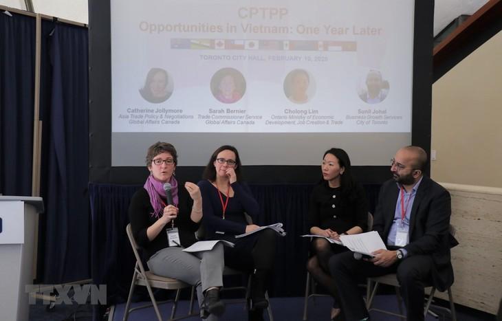 CPTPP bringt neue Chancen für Unternehmen Vietnams und Kanadas - ảnh 1