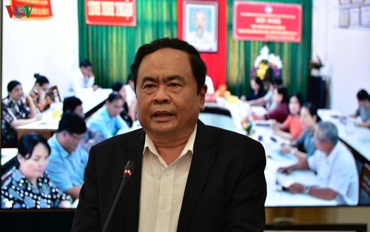 Das ganze System der Vaterländischen Front Vietnams engagiert sich für die Epidemie-Bekämpfung - ảnh 1