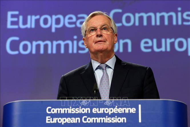 Entwurf eines Handelsabkommens zwischen Großbritannien und der EU steht vor vielen Schwierigkeiten - ảnh 1