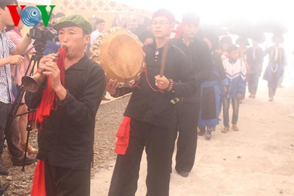 Das Set der traditionellen Musikinstrumente der Volksgruppe Dao Khau im Kreis Sin Ho - ảnh 2