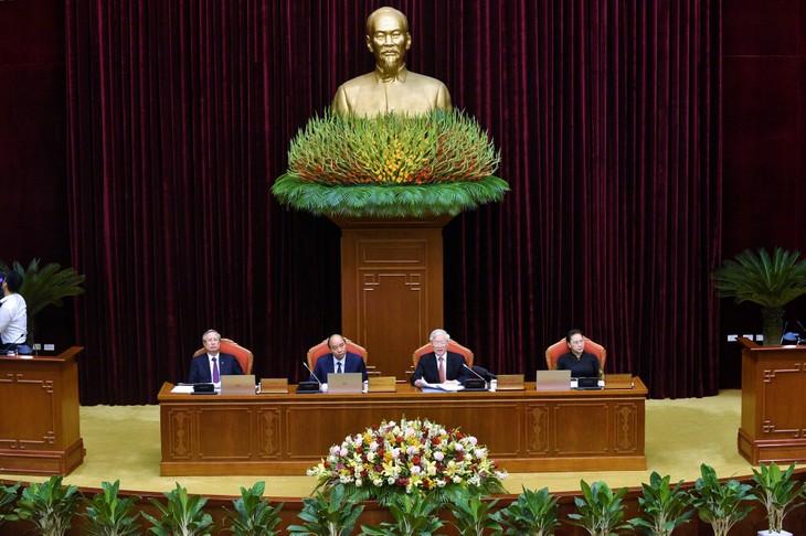 Abschluss der 12. Sitzung des KPV-Zentralkomitees - ảnh 1