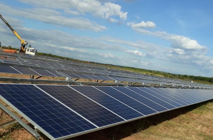 Hilfsmechanismus für Solarstromprojekte tritt am 22. Mai in Kraft - ảnh 1
