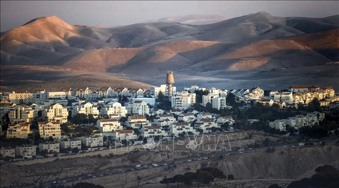 Der Nahe Osten ist angespannt wegen des Annexionsplans im Westjordanland Israels - ảnh 1