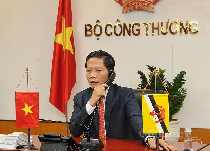 Vietnam-Brunei geben sich Mühe, um Handelswege bald zu eröffnen - ảnh 1