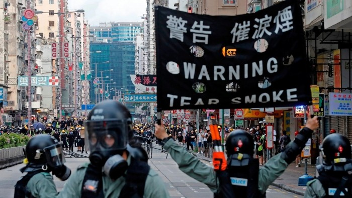 Sicherheitsgesetz in Hongkong (China) tritt in Kraft - ảnh 1
