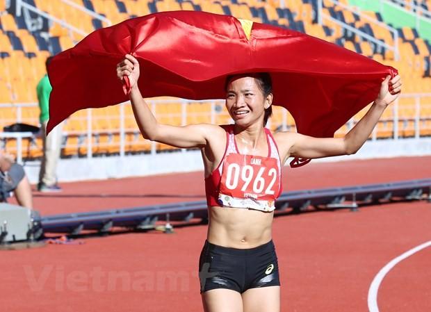 Zahlreiche Meister der SEA Games 30 beteiligen sich am Tay Ho Halbmarathon 2020 - ảnh 1