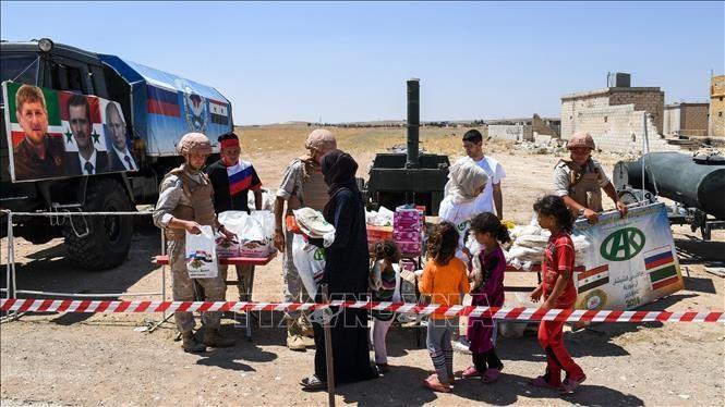 UN-Sicherheitsrat erlaubt Fortsetzung der Hilfe für Syrien - ảnh 1