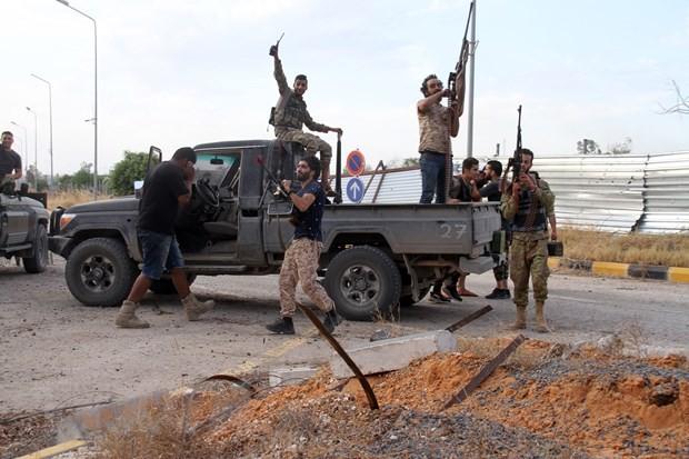 Deutschland, Frankreich und Italien drohen Ländern mit Sanktionen wegen Libyen-Konflikt - ảnh 1