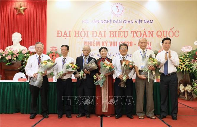 Landeskonferenz des vietnamesischen Verbands für folkloristische Literatur und Künste - ảnh 1