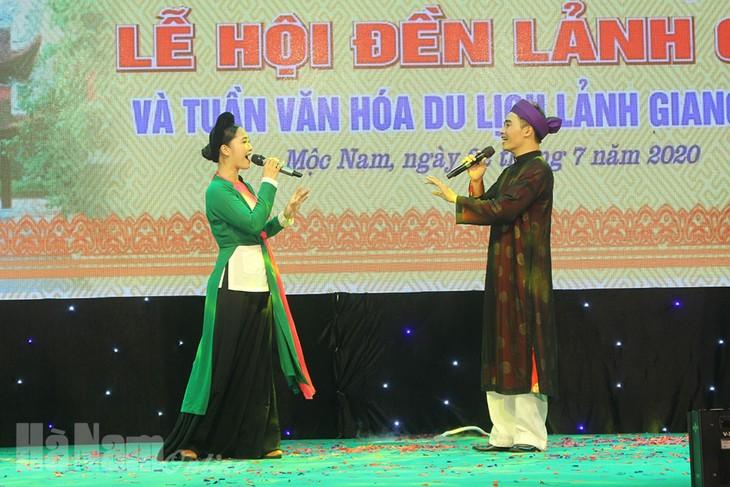 Eröffnung des Festes vom Lanh-Giang-Tempel und der Kultur-Tourismuswoche Lanh Giang 2020 - ảnh 1