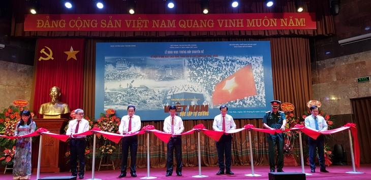 Eröffnung der Ausstellung über ein unabhängiges und selbständiges Vietnam - ảnh 1