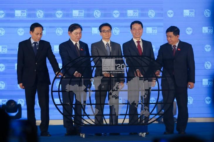 Eröffnung der Konferenz und Ausstellung digitaler Welt ITU 2020 - ảnh 1