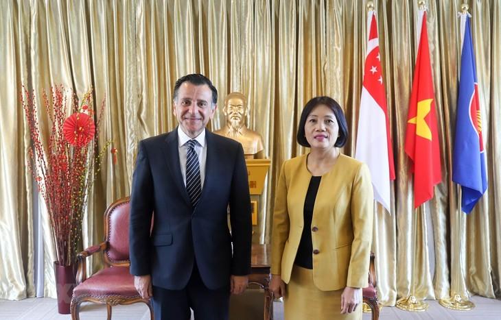 Jordanien will Zusammenarbeit mit Vietnam in Investitionen und Handel verstärken - ảnh 1
