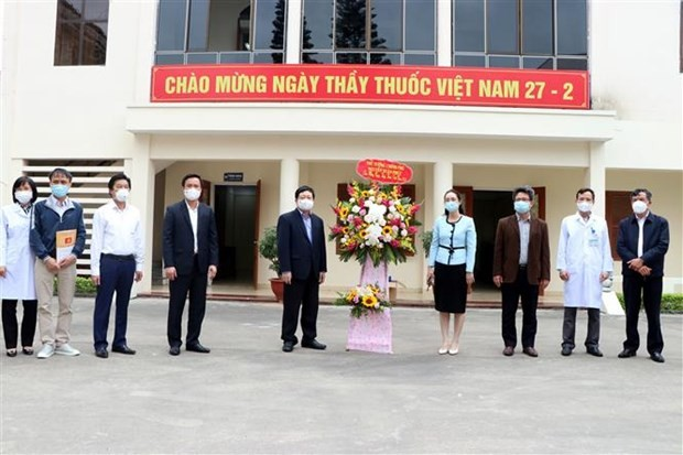 Dankbarkeit für Mediziner bei Covid-19-Epidemie in Hai Duong - ảnh 1
