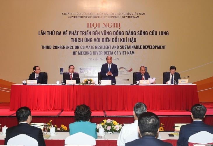 """Premierminister Nguyen Xuan Phuc: Man soll einen """"Dialog 2045"""" im Mekong-Delta veranstalten - ảnh 1"""