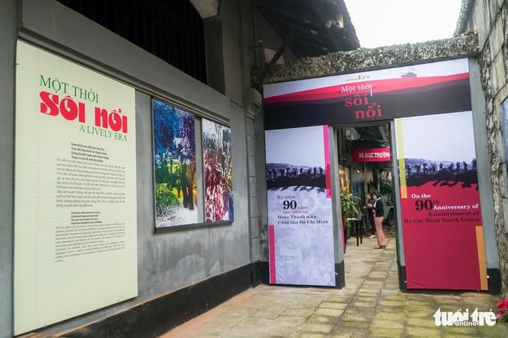 """Ausstellung """"Eine lebhafte Zeit"""" in der Gedenkstätte des Hoa-Lo-Gefängnisses in Hanoi - ảnh 1"""