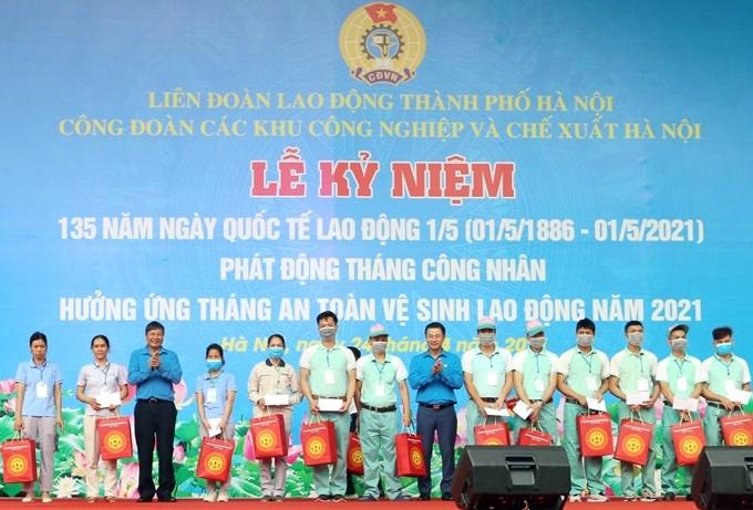 Zahlreiche Provinzen starten den Monat für Arbeiter - ảnh 1