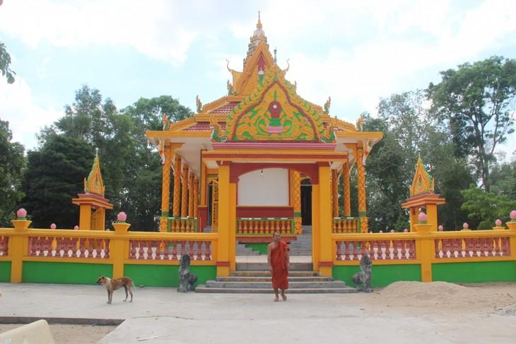 Soc Trang: Erhaltung historischer Werte der Nam Tong-Pagoden der Khmer - ảnh 1