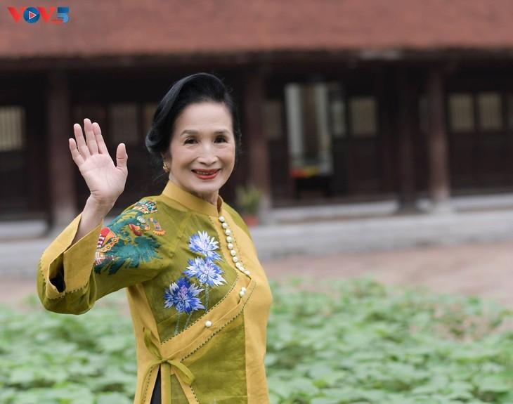 Tag für vietnamesische Senioren: die Schönheit der Alten - ảnh 2