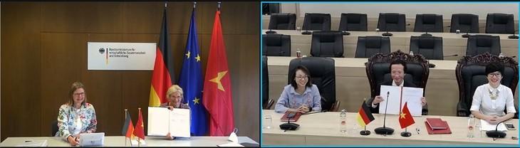 """Entwicklungspolitische Zusammenarbeit zwischen Vietnam und Deutschland: Vietnam ist zukünftig """"Globales Partnerland"""" - ảnh 1"""