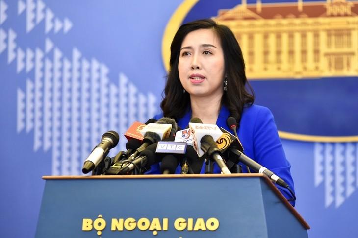 Vietnams Reaktion auf die Umsetzung des geänderten Seefahrtsicherheitsgesetzes Chinas - ảnh 1