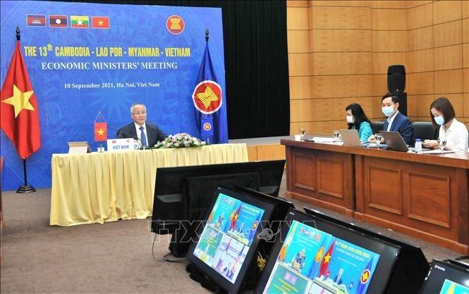 Zusammenarbeit Kambodschas, Laos, Myanmars und Vietnams sucht nach Maßnahmen zur Wiederbelebung der Wirtschaft - ảnh 1