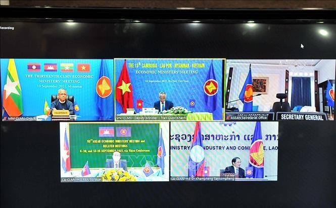 Zusammenarbeit Kambodschas, Laos, Myanmars und Vietnams sucht nach Maßnahmen zur Wiederbelebung der Wirtschaft - ảnh 2