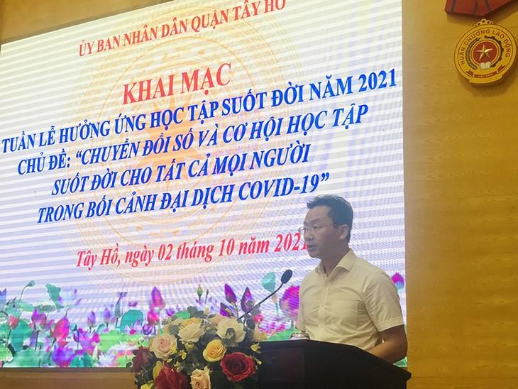 Start der Woche für lebenslanges Lernen 2021 in einigen Provinzen - ảnh 1
