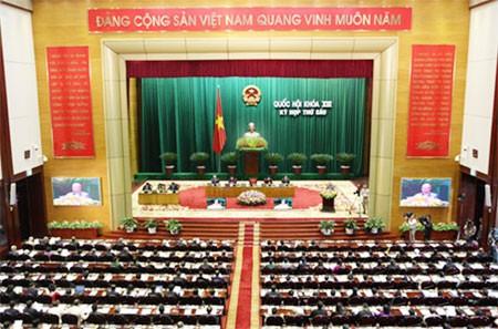 MN Vietnam memulai sidang pleno tentang sosial-ekonomi - ảnh 1