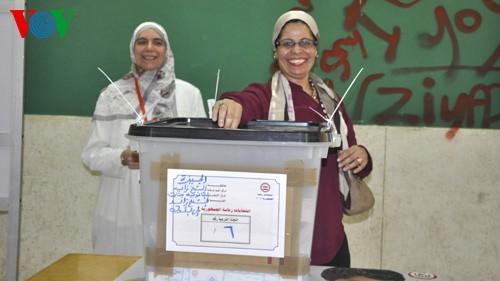Hari pertama pemilu Presiden Mesir berlangsung secara lancar - ảnh 1