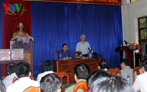 Provinsi Cao Bang perlu memilih terobosan dalam ekonomi koridor dan pariwisata untuk berkembang - ảnh 1