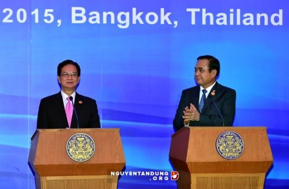 Komunike pers bersama Vietnam-Thailand - ảnh 1