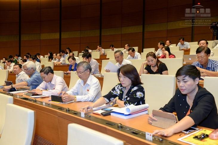 MN Vietnam mengesahkan RUU mengenai aktivitas pengawasan MN dan Dewan Rakyat - ảnh 1