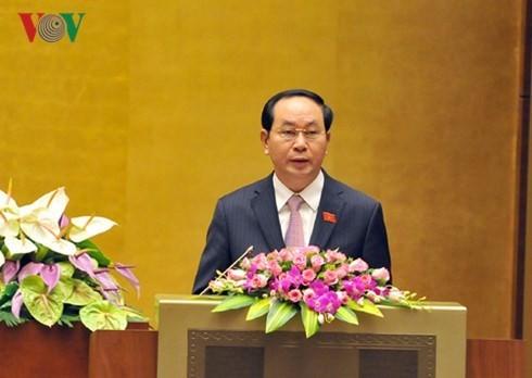 Tran Dai Quang dinominasikan menjadi Presiden Vietnam - ảnh 1