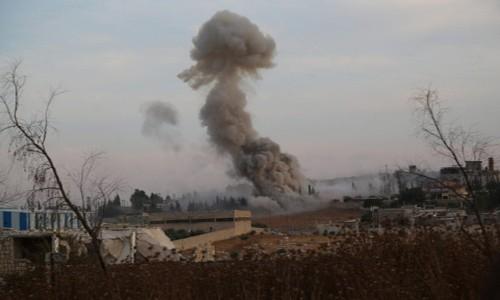 Tentara Suriah untuk pertama kalinya melakukan serangan udara terhadap kawasan pemukiman orang Kurdi - ảnh 1