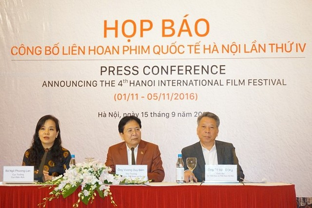 Sebanyak 550 film akan ikut serta dalam Festival ke-4 Film Internasional Hanoi  - ảnh 1