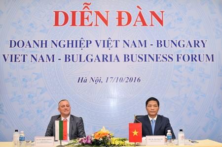 Vietnam dan Bulgaria memperkuat kerjasama ekonomi dan perdagangan - ảnh 1