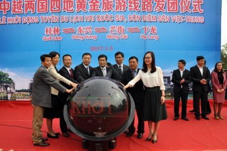 Mengawali paket wisata dua negara-empat destinasi antara Vietnam dan Tiongkok - ảnh 1